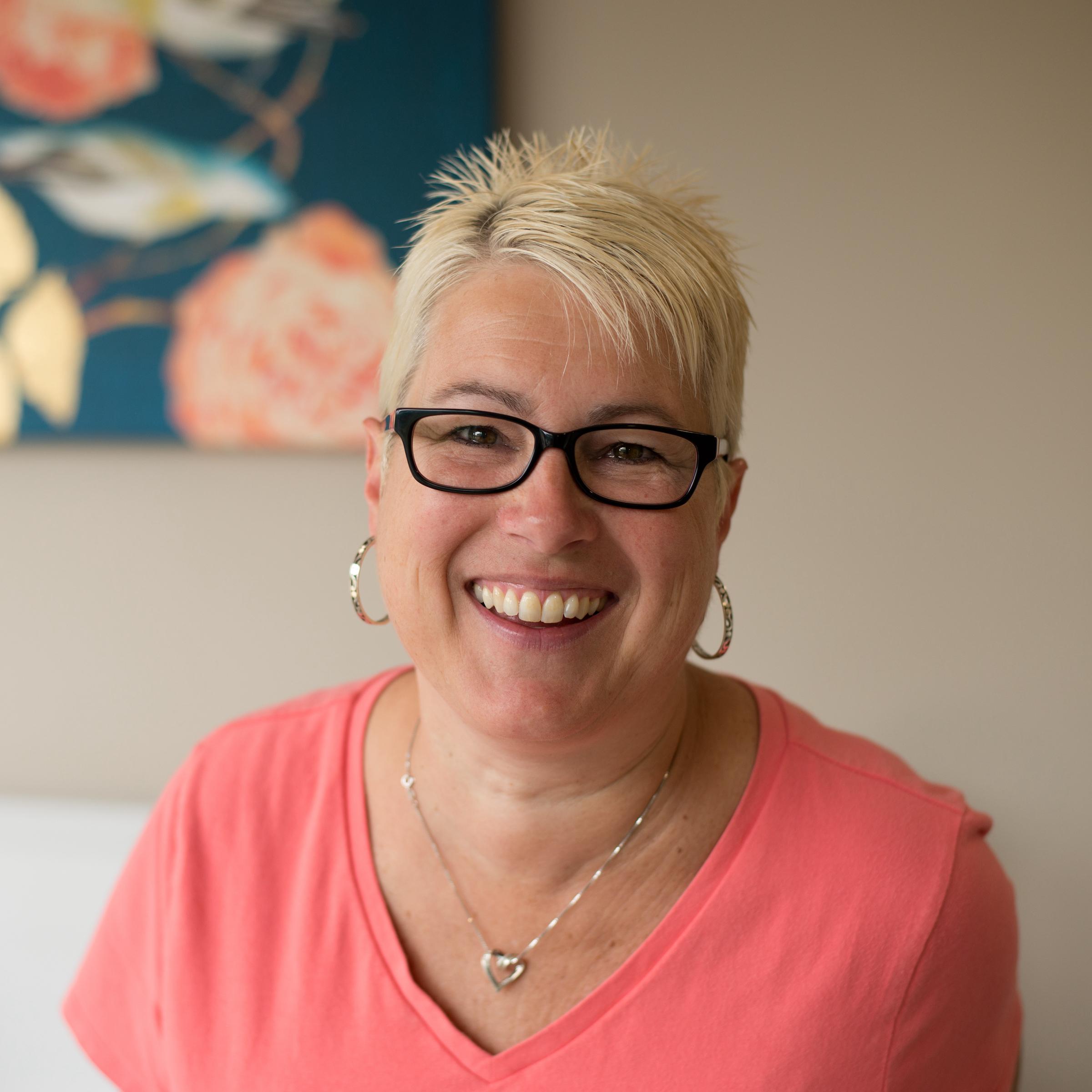 Gail Huber Receptionist Elmira Family Chiropractic Square Version